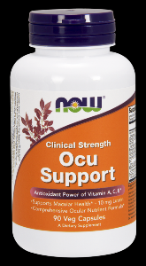 Clinical Strength Ocu Support (90 caps) NOW Foods