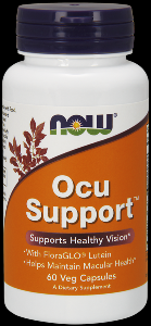 Ocu Support (60 caps) NOW Foods