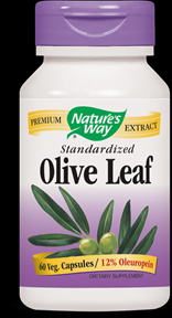 Olive Leaf, Standardized (60 caps) Nature's Way