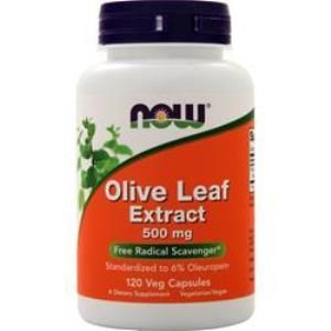 Olive Leaf Extract (120 Vcaps 500 mg) NOW Foods
