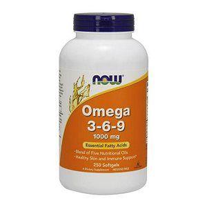 Omega 3-6-9 (250 softgels 1000  mg) NOW Foods