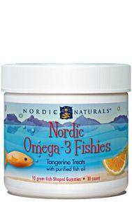 Nordic Omega-3 Fishies* (30 Count) Nordic Naturals