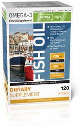 Omega-3 Fish Oil | High Potency (120 softgels)* NutraOrigin