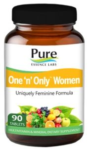 One 'n' Only Women's Formula (90 tabs)* Pure Essence Labs
