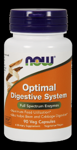 Optimal Digestive System (90 Vcaps) NOW Foods