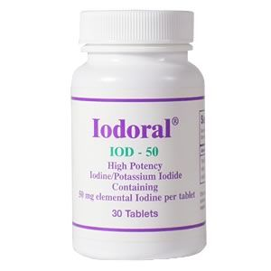 Iodoral IOD-50 (30 Tablets) Optimox Corporation