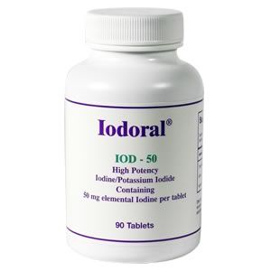 Iodoral IOD-50 (90 Tablets) Optimox Corporation