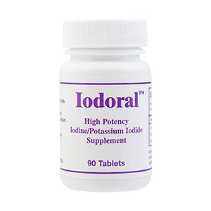 Iodoral (90 Tablets) Optimox Corporation