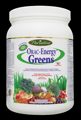 ORAC-Energy Greens (60 day 364 g) Paradise Herbs