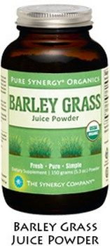 Organic Barley Grass Juice Powder (150 gr)* The Synergy Company