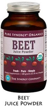 Organic Beet Juice Powder ( 180 gr)* The Synergy Company