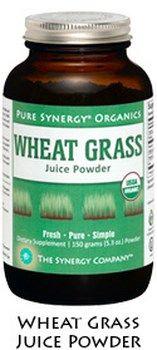Organic Wheat Grass Juice Powder (150 gr)* The Synergy Company