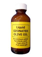 Liquid Ozonated Olive Oil Bottle (50 mL) Ozone Services