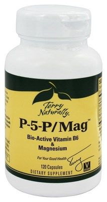 P-5-P Mag (120 capsules) Terry Naturally