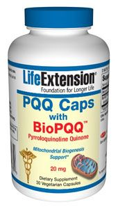PQQ Caps with BioPQQ (20mg 30 capsules)* Life Extension