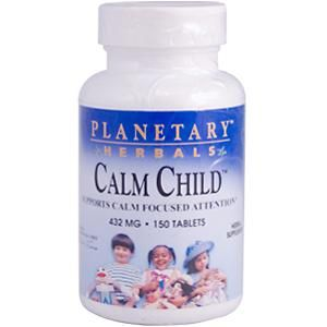 Calm Child for Active Children (72 tablets)* Planetary Herbals