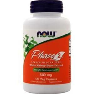 Phase 2 Starch Neutralizer (120 vcaps 500 mg) NOW Foods