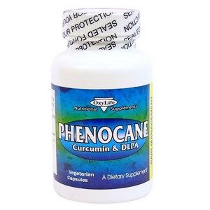 Phenocane Curcumin (120 capsules) OxyLife