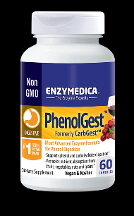 PhenolGest Formerly CarbGest (60 caps)* EnzyMedica