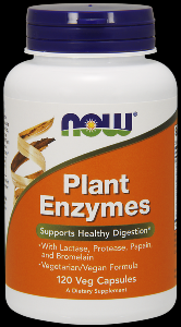 Plant Enzymes (120 Vcaps) NOW Foods