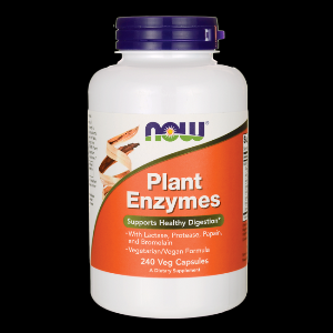 Plant Enzyme (240 Vcaps) NOW Foods