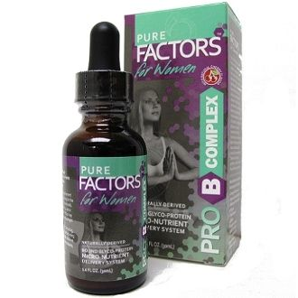 Pro-B Complex for Women with Velvet Antler Extract (1 oz)* Pure Solutions