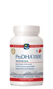 ProDHA 1000 High Potency (120 softgels)* Nordic Naturals