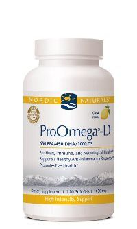 ProOmega-D* (120 SGels) Nordic Naturals