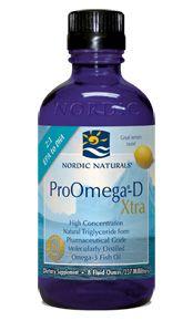 ProOmega-D Xtra Liquid* (8 oz) Nordic Naturals