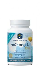 ProOmega-D Xtra (60 softgels)* Nordic Naturals