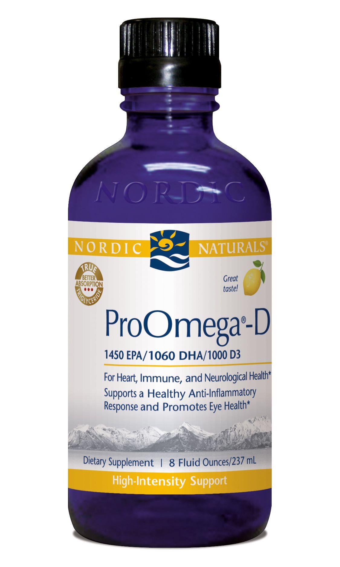 ProOmega-D Liquid* (8 fl oz) Nordic Naturals