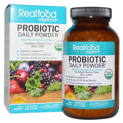 Your Daily Probiotic (90 grams) RealFood Organic by Country Life
