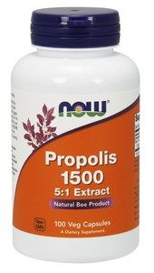Propolis 1500 mg (100 Veg Caps) NOW Foods