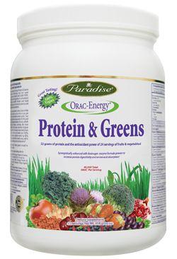 ORAC-Energy Protein & Greens (16 oz) Paradise Herbs