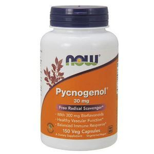 Pycnogenol (150 Caps 30 mg) NOW Foods