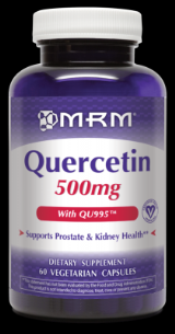 Quercetin (500mg  60 caps) Metabolic Response Modifiers