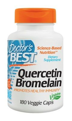 Quercetin Bromelain (180 caps) Doctor's Best