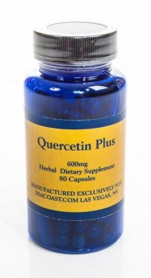 Quercetin Plus (formerly known as Prostasol) (80 Caps) Seacoast Natural Health