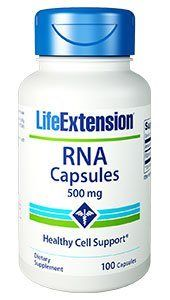 RNA (Ribonucleic Acid) (500 mg 100 capsules)* Life Extension