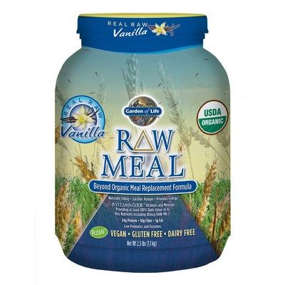 RAW Organic Meal (Vanilla 1115 gr)* Garden of Life