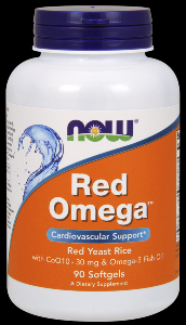 Red Omega (180 softgels) NOW Foods