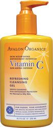 Vitamin C Refreshing Facial Cleanser Avalon Organics