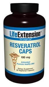 Resveratrol Caps 100 mg*(60 Vcaps) Life Extension