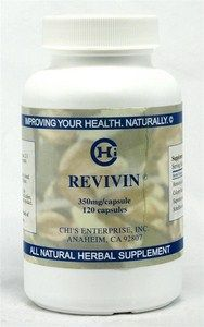 Revivin (350mg 120 capsules) Chi's Enterprise