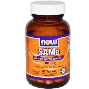 SAM-e (60 tablets 100mg) NOW Foods
