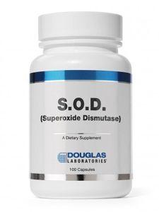 SOD Superoxide Dismutase (100 caps)* Douglas Labs