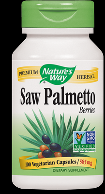 Saw Palmetto Berries (100 vcaps) Nature's Way