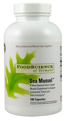 Sea Mussel (180 capsules) Food Science of Vermont