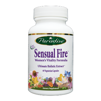 Sensual Fire Vitality Formula for Women (60 capsules) Paradise Herbs