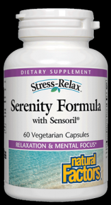 Serenity Formula (60 caps)* Natural Factors
